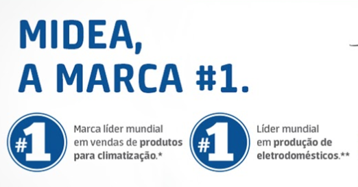 Geladeira / Refrigerador Midea Side by Side 528L Midea - MD-RS587FGA041.MD-RS587FGA042